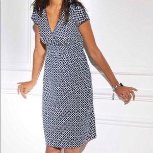 Boden cotton cap-sleeve dress